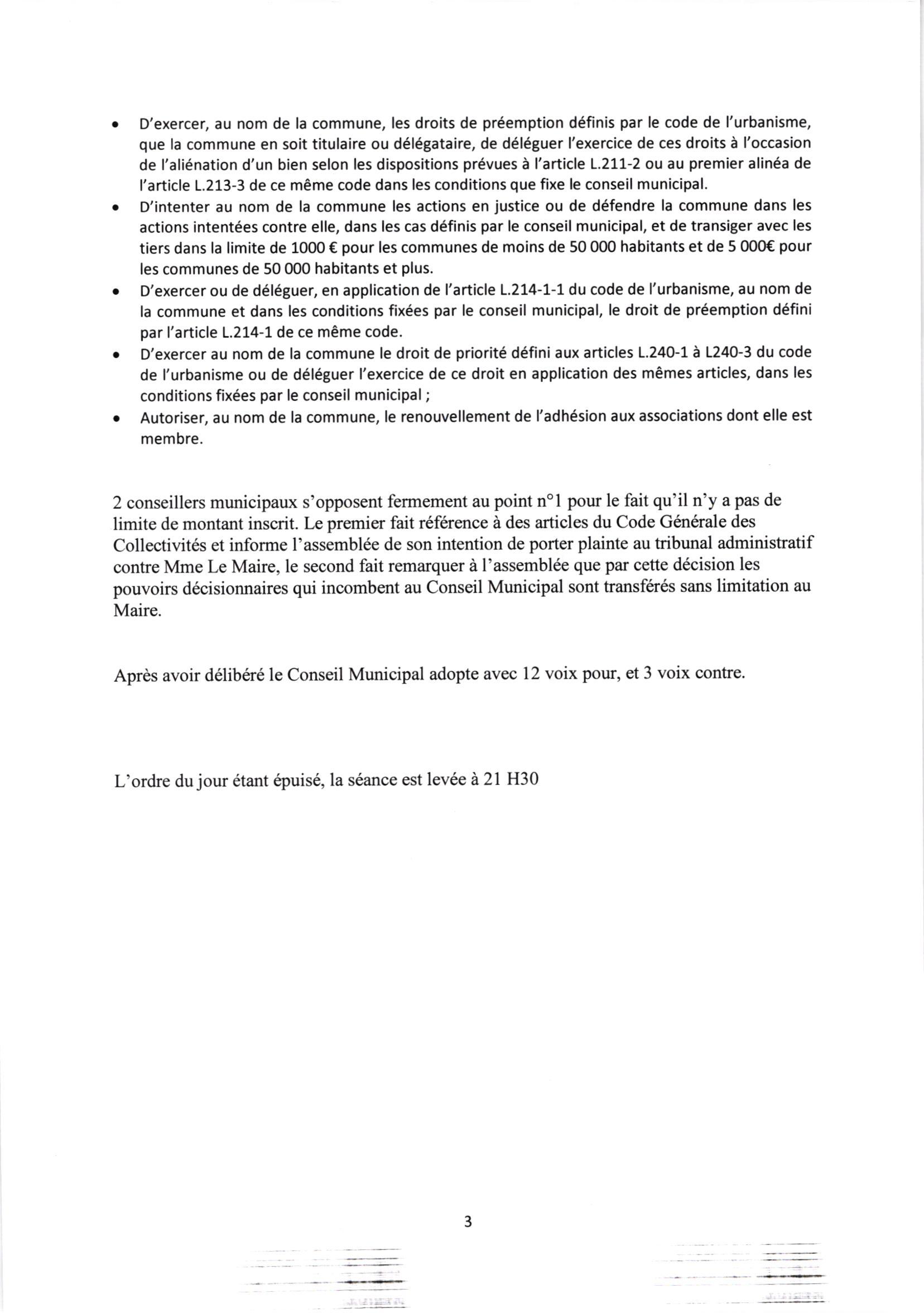 CR CM 25 mai 2020